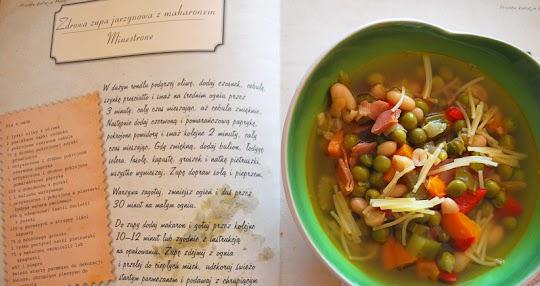 Minestrone- zdrowa zupa jarzynowa z makaronem