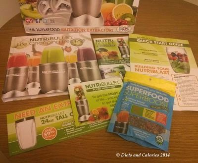 Nutribullet 900 recipe books and superfood