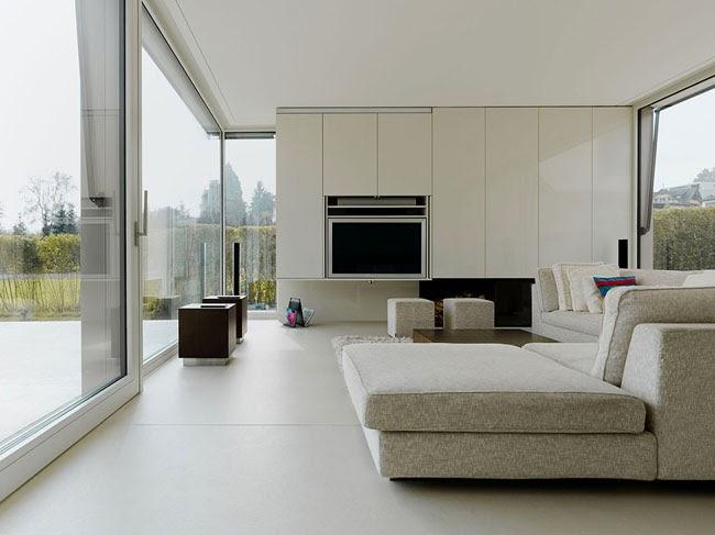 casas minimalistas y modernas casa suiza minimalista