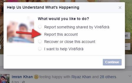Delete facebook fake account without password 4gtrick how to delete a fake fb id ccuart Gallery