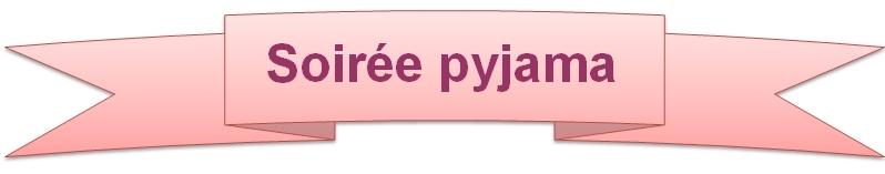 carte d invitation pyjama party