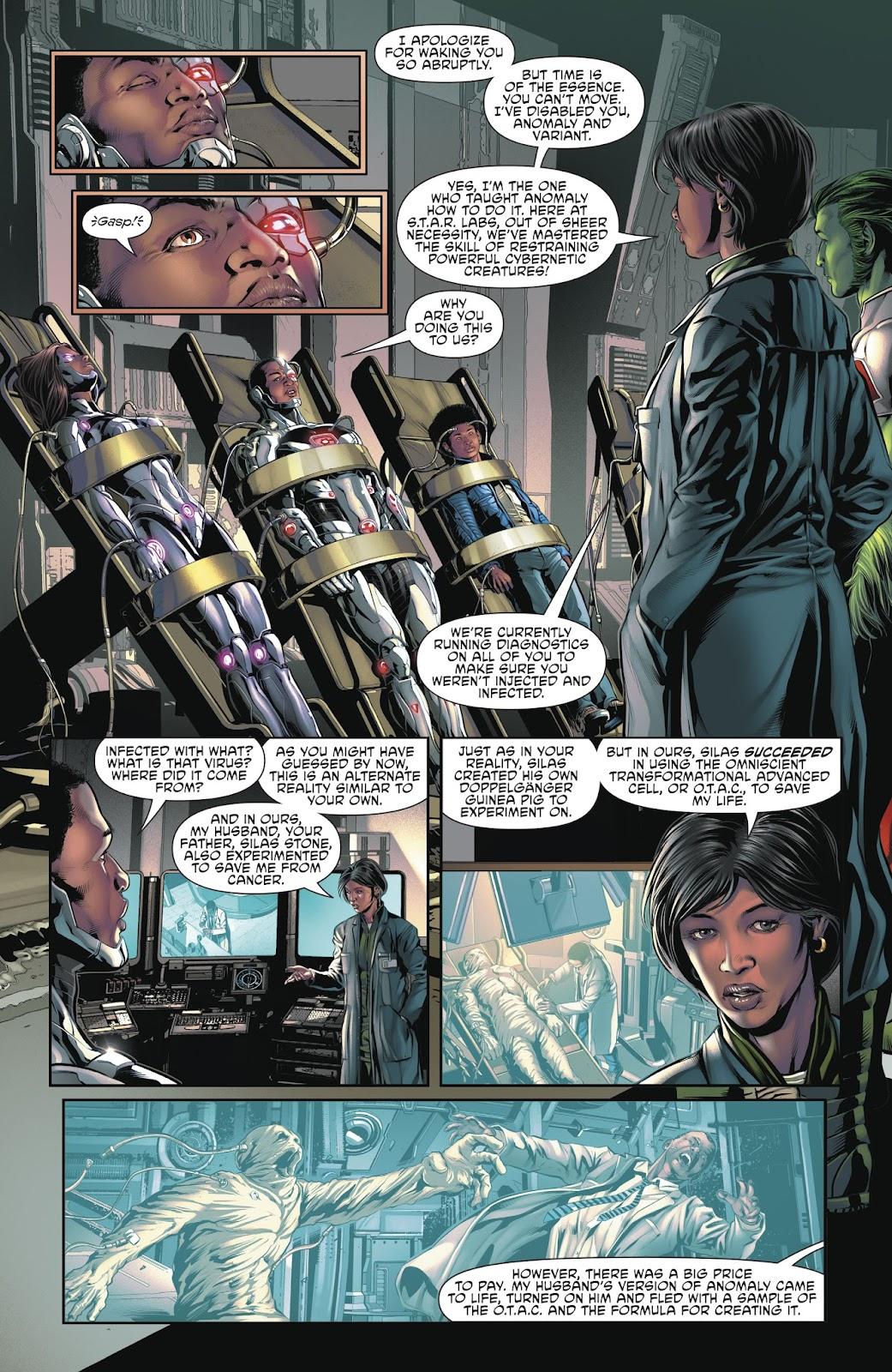 Read online Cyborg (2016) comic -  Issue #14 - 21