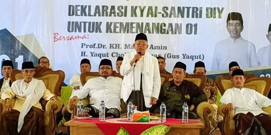 Ma'ruf Amin: Memilih Pemimpin Itu Wajib Hukumnya