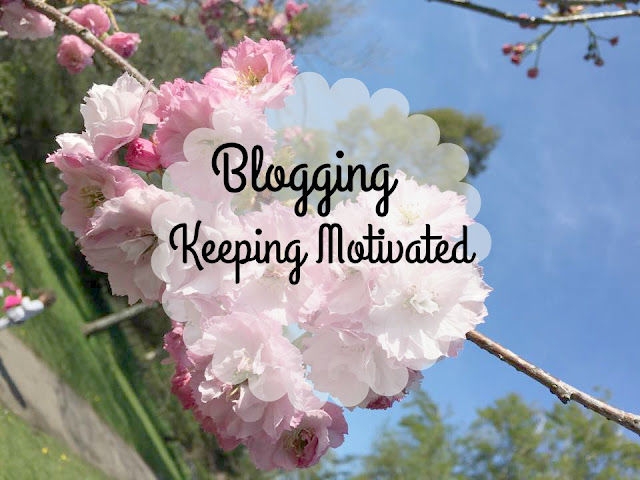blogging keeping motivated