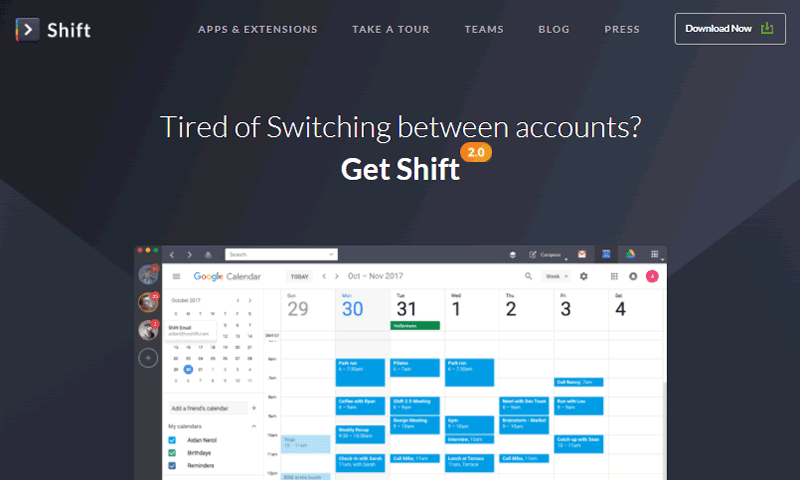 Shift helps you get more out of your Gmail