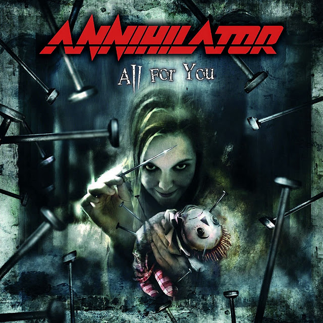 Annihilator, All For You, AFM Records, 2004
