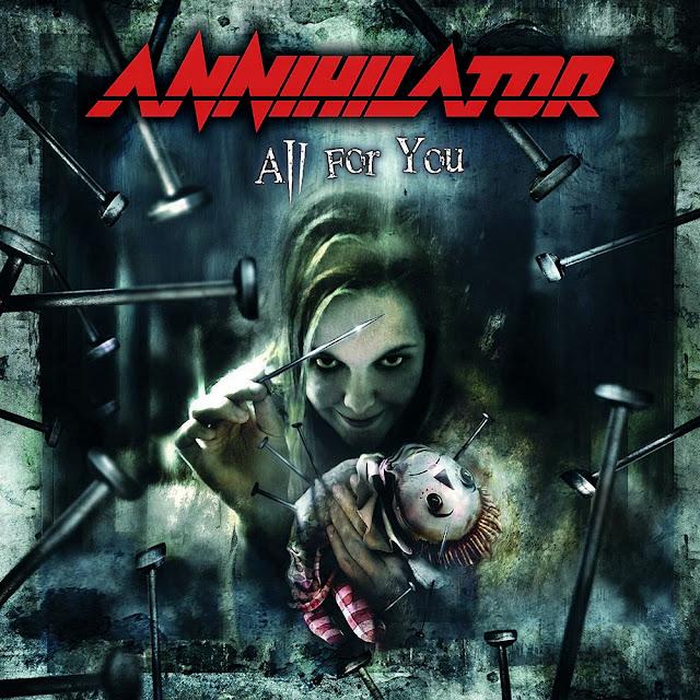 Annihilator, All For You, AFM Records, 2004
