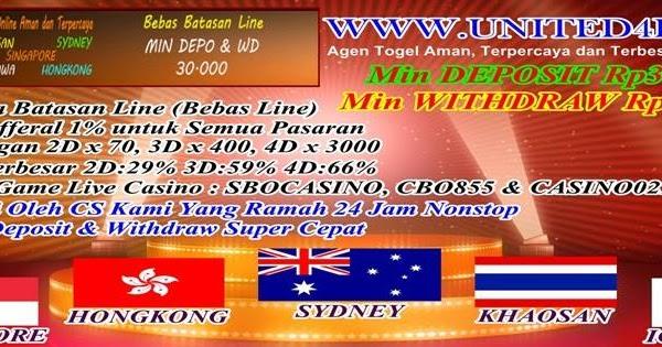 Agen Togel Online - United4D Agen Togel Singapore Terbaik ...