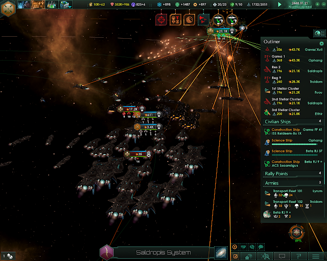 Combat View   Stellaris Screenshot
