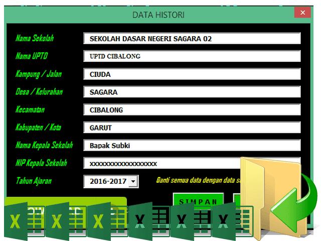 Download Aplikasi Hitung Usia Siswa Terbaru Otomatis Format Excel