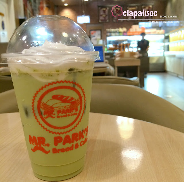 Iced Matcha Latte from Mr. Park's Bread & Cake