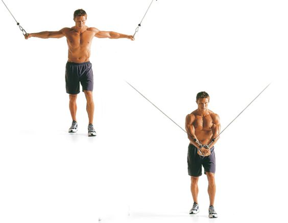 Best Chest Exercises of All Time - 30 Exercise - Cable Crossover