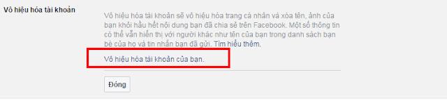 chỉ vài bước đơn giản để khóa tài khoản facebook