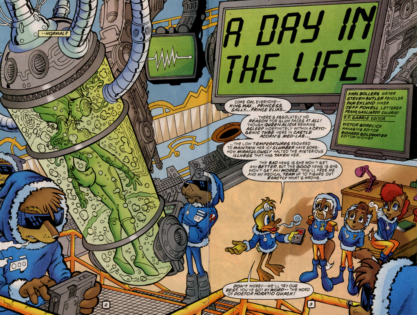 Read online Sonic The Hedgehog comic -  Issue #69 - 3