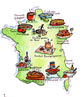 Jeu de l 39 oie le restaurant et for B b france carte