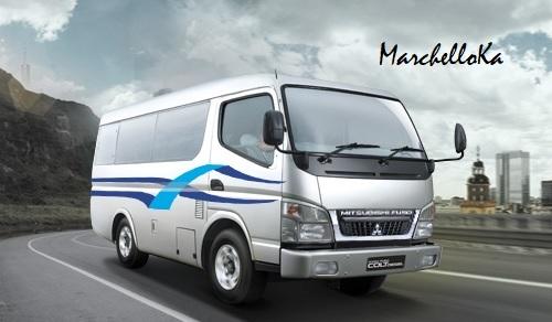Mitsubihsi FE 71 Bus