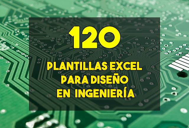 120 plantillas de excel para ingenieria