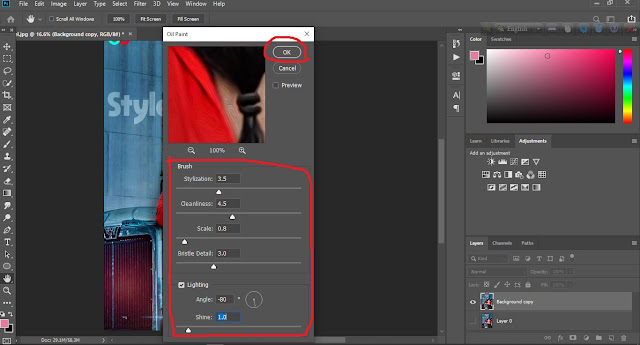 How to download and install oil paint filter photoshop cc 2018