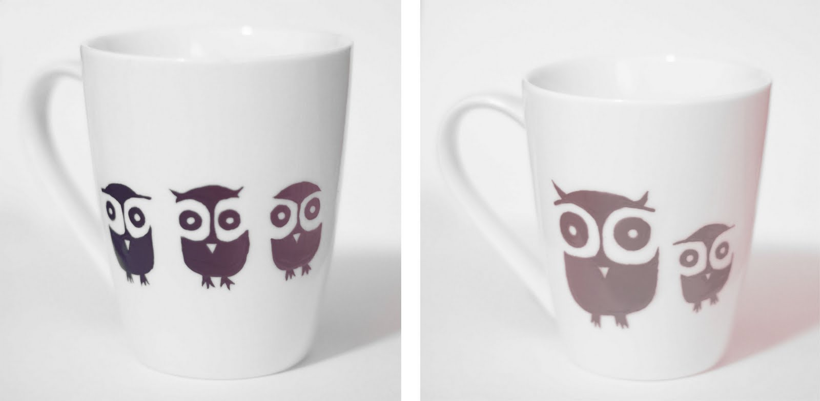 Owl Ceramic Mug Little Projectiles Owl Mugs