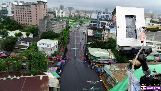 台中市復興陸橋拆除工程縮時攝影