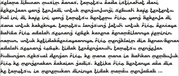 Boku no pico subtitle indonesia.