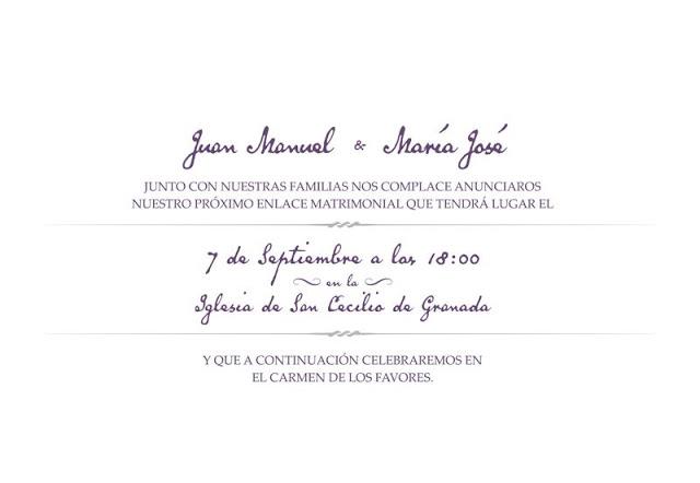 La boda de Juan Manuel y Maria José, una boda Granadina tipo buffet