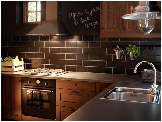 deco chambre interieur solutions pour les petites cuisines par ikea. Black Bedroom Furniture Sets. Home Design Ideas