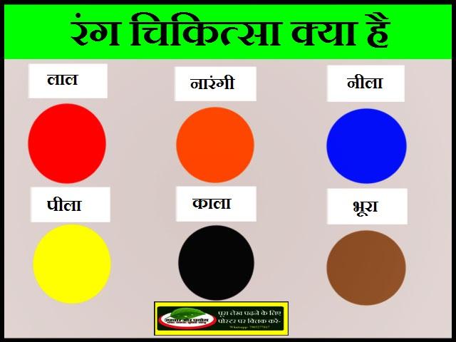 रंग चिकित्सा क्या है