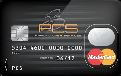 La carte prépayée PCS MasterCard® version BLACK