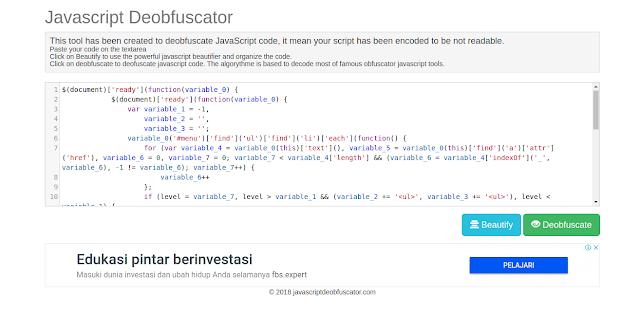 Javascript, Deobfuscation, Javascript Deobfuscation, nashrul, 1nashrul