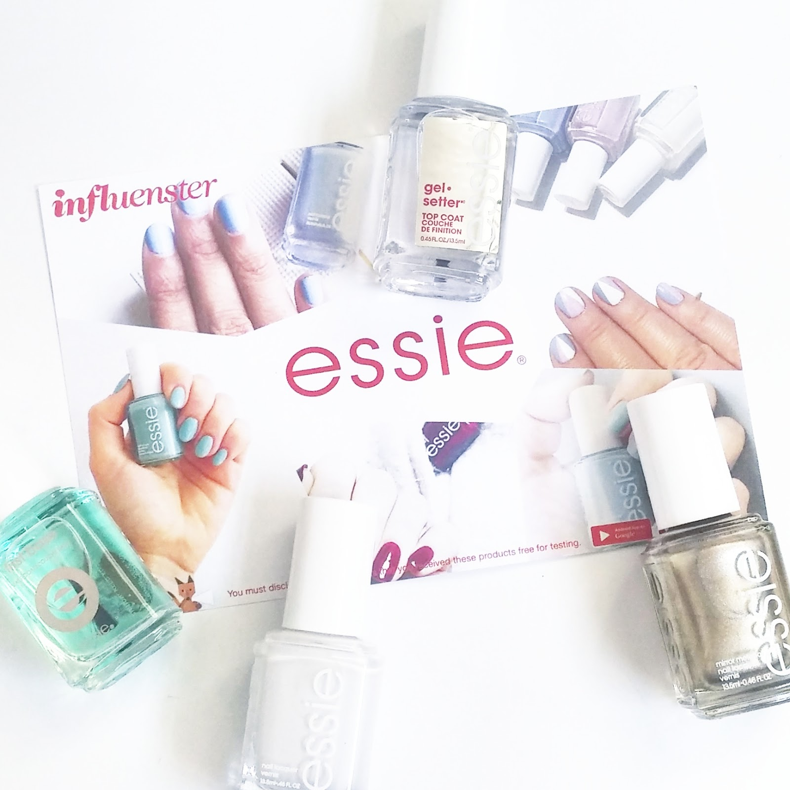 Essie VoxBox Review (first base, gel setter, blanc, good as gold)
