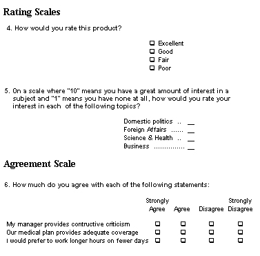 Sample Questionnaire Survey Questionnaire How Should It