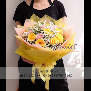 jual bouquet bunga murah, jual bouquet bunga bagus dan murah, toko bunga dijakarta utara, jual bunga bouquet, hand bouquet,