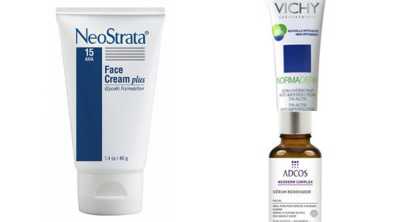 produtos com acido glicolico