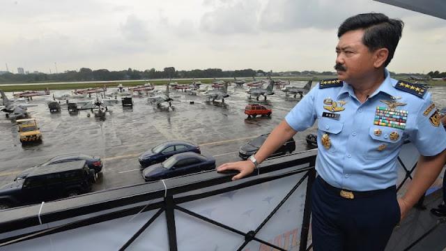Panglima TNI Pimpin Upacara Kenaikan Pangkat 66 Pati TNI