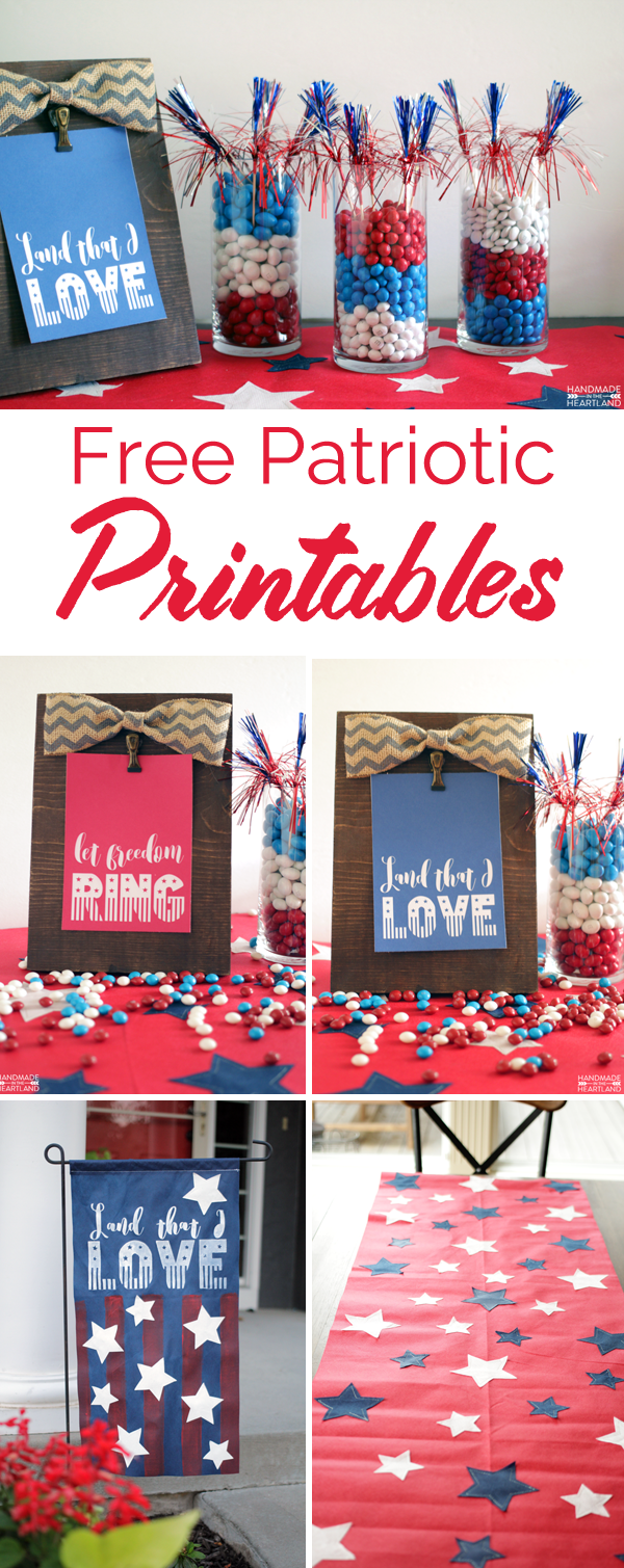 free patriotic printables for the 4th of July