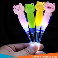 OSM - H189 Alat Pembersih Telinga Animal / Alat Korek Korek Kuping Lampu LED / Flashlight Earpick