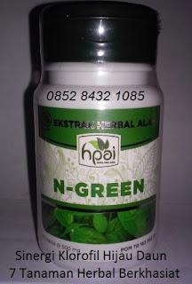 khasiat N GREEN hpai original manfaat sinergi 8 klorofil hijau daun