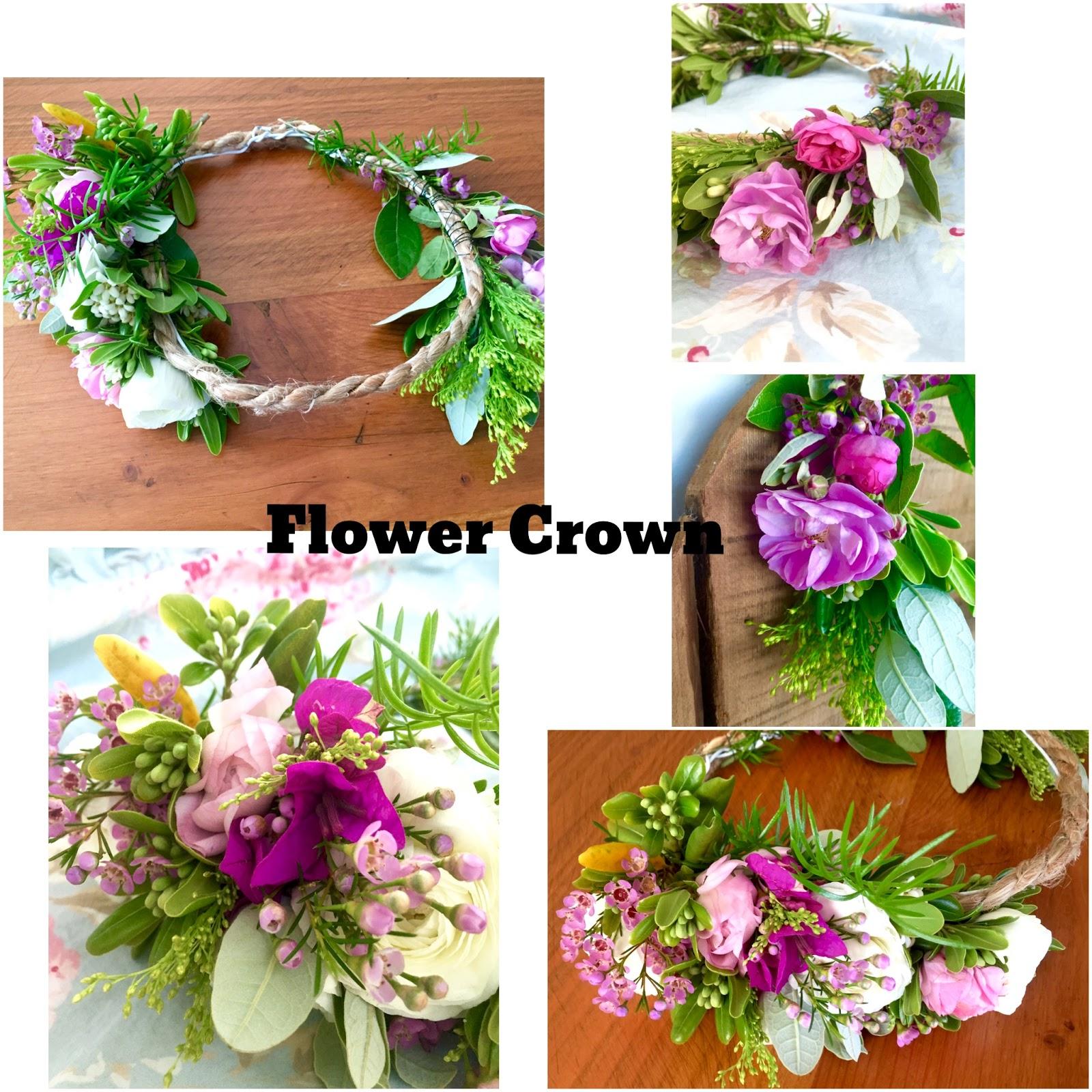 Dds cottage and design fresh flower crowns fresh flower crowns izmirmasajfo Gallery