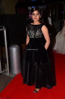 Niveda Thomas Black Sleeveless Cute Dress at 64th Jio Filmfare Awards South 2017 ~ Exclusive 008
