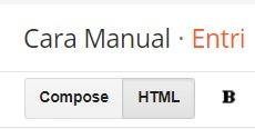 Compose dan HTML