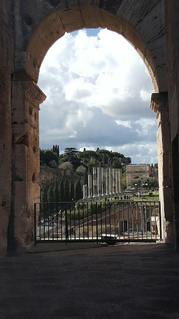 Una finestra sull'eternità - Visita del 06 marzo 2016 Colosseo e foro romano