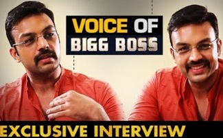 The man behind voice of BIGG BOSS | Actor Amit Bhargav Interview | Nenjam Marappathilla SerialVikram