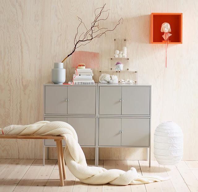 Stauraum ordnen mit Lixhult von IKEA - oder wie kann man sich billig aber nicht schrottreif einrichten? Es kommt wahrlich auf den Platz in der Einrichtung an! Blickfang lieber mit Design