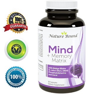 Nature Bound Natural Brain, Memory and Mind Booster