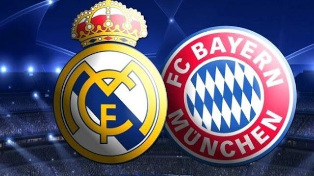 Real Madrid dan Bayern Munchen Jadi Batu Sandungan pada Babak 16 Liga Champions