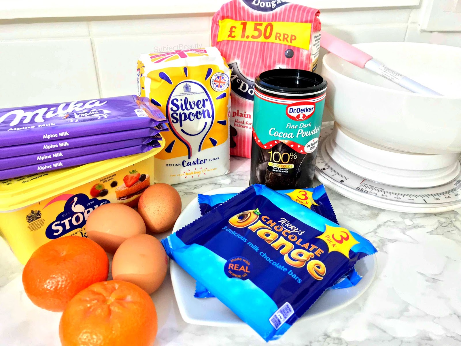 Terry's Chocolate Orange Brownies