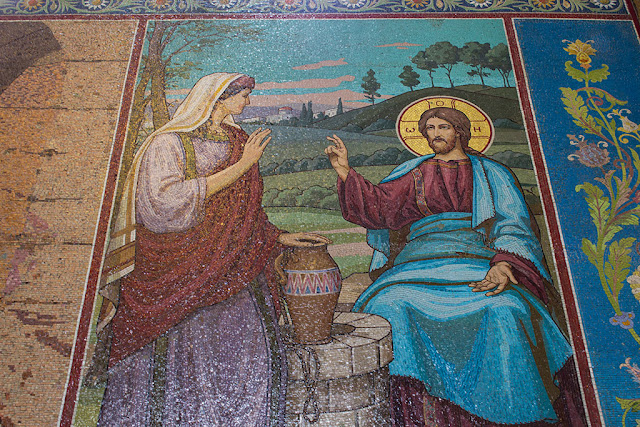 Мозаичные иконы храма Спас на Крови