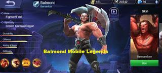 hero balmond mobile legends