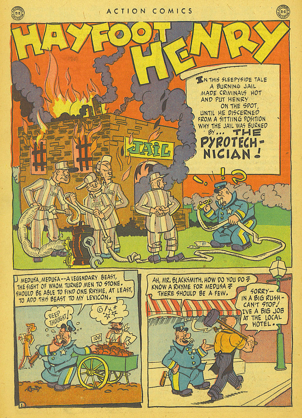 Read online Action Comics (1938) comic -  Issue #86 - 36